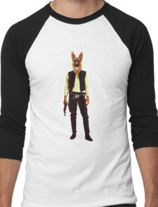 Han Solo Star Wars Dog Men's Baseball ¾ T-Shirt
