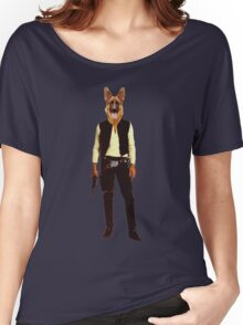 Han Solo Star Wars Dog Women's Relaxed Fit T-Shirt