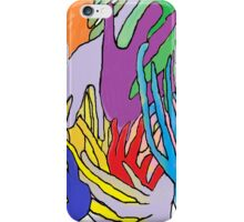 Holding Hands Tightly iPhone Case/Skin