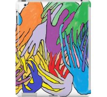 Holding Hands Tightly iPad Case/Skin