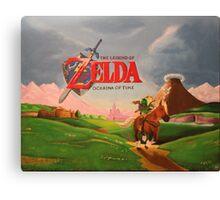 Legend of Zelda: Ocarina of Time Canvas Print