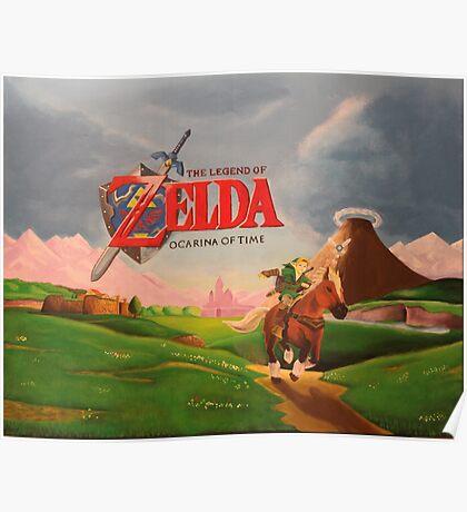 Legend of Zelda: Ocarina of Time Poster