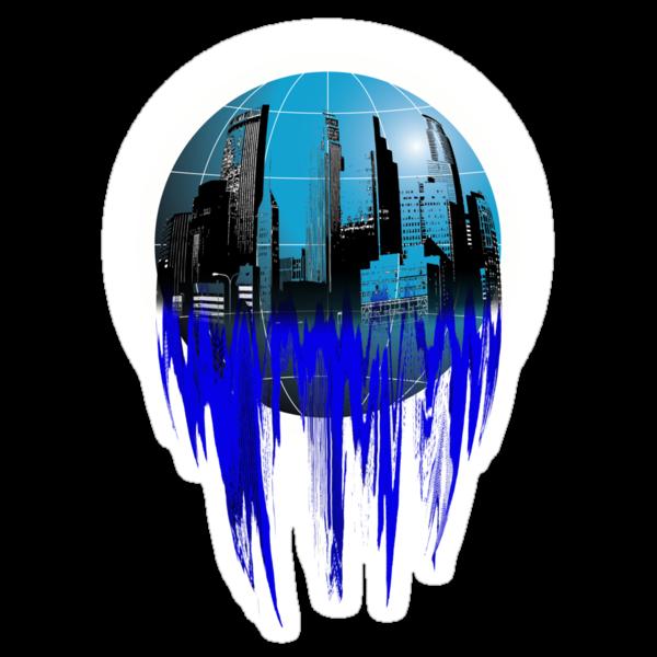 City Globe by Svetlana Sewell
