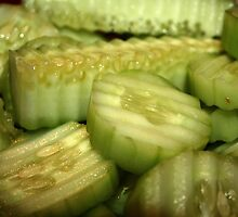 Yummy Cucumbers by Cheri Perry