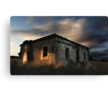 The Last Golden Touch Canvas Print