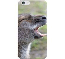 Wailing Wallaby iPhone Case/Skin