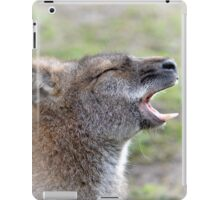 Wailing Wallaby iPad Case/Skin