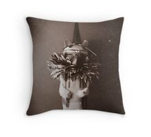 Hawk Doll Throw Pillow
