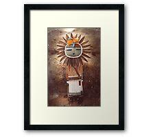Sun Kachina Framed Print