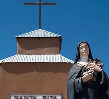 Santa Rita at the Santa Rita Church, Riley, NM by Mitchell Tillison