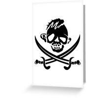 Goonies- Sloth Flag Greeting Card
