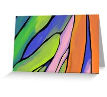 Abstract Fingers of Dawn Greeting Card