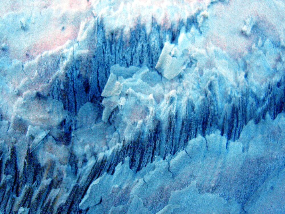 Glacial Fissures by Kylie Newton