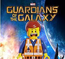 Lego Guardians Of The Galaxy by ataturkman