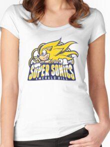 Super Sonics Women's Fitted Scoop T-Shirt