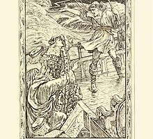 Eight illustrations to Shakespeare's Tempest by Walter Crane 1894 25 - Boatswain Hence What Care These Roarers for the Name of Ring by wetdryvac