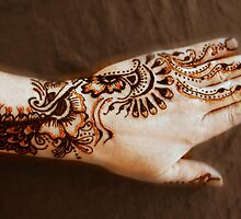 All that Glitters is Gold, Henna Tattoo Art by bajidoo