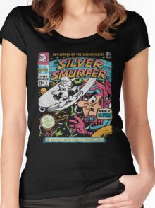 Silver Smurfer Women's Fitted Scoop T-Shirt