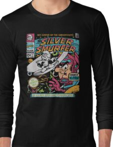 Silver Smurfer Long Sleeve T-Shirt