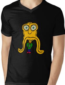 JUST THE WAY MY FACE HANGS Mens V-Neck T-Shirt