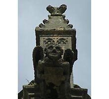 A gargoyle at Grendon Parish church Photographic Print
