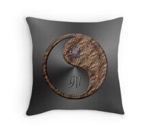 Libra & Rabbit Yin Earth Throw Pillow