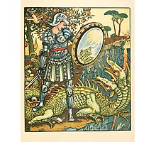 Princess Belle-Etoille 1909 Walter Crane 15 - Dragon Photographic Print