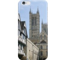 Lincoln Cathedral Approach iPhone Case/Skin