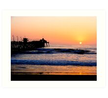 Imperial Beach Sunset Art Print
