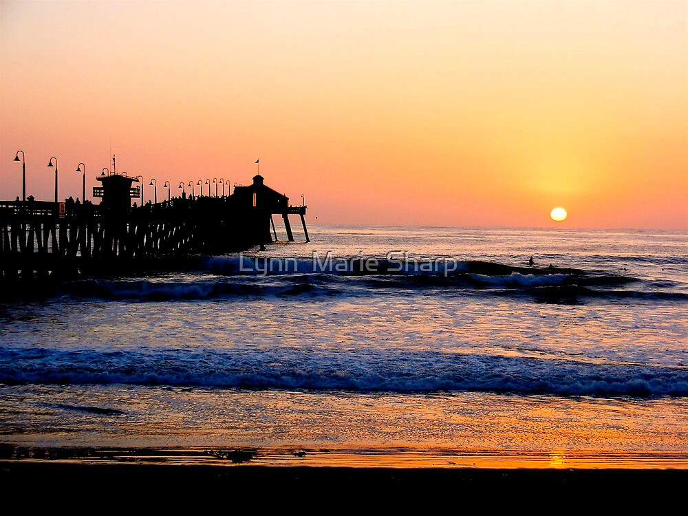 Imperial Beach Sunset by Marie Sharp