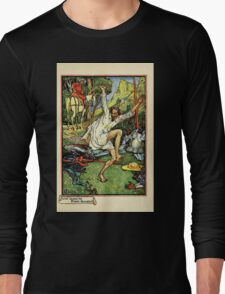 Don Quixote of the Mancha retold by Judge Parry Illustrated by Walter Crane 1920 157 - Don Quixote Doing Pennance Long Sleeve T-Shirt