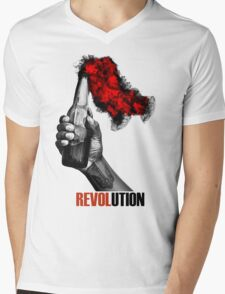 2014 Ukrainian revolution Mens V-Neck T-Shirt