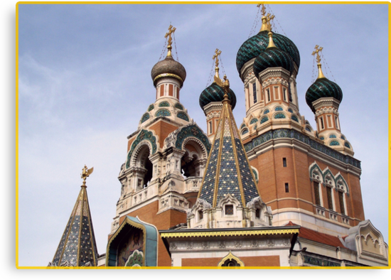 ST Nicolas Russian cathedral by daffodil