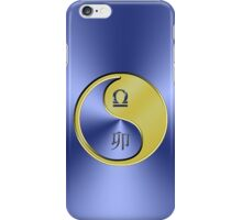 Libra & Rabbit Yin Metal iPhone Case/Skin