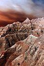 Badlands National Park .3 by Alex Preiss