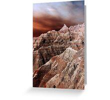 Badlands National Park .3 Greeting Card