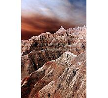 Badlands National Park .3 Photographic Print