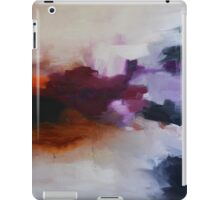 Lavender Field, purple abstract print from original painting  iPad Case/Skin