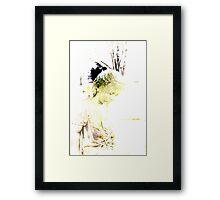 Lillien in Sepia Tones Framed Print
