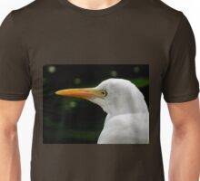 Beauty is in the eye of the beholder..Great Egret Unisex T-Shirt