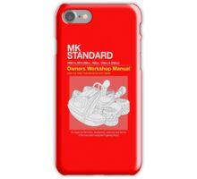 Mario Kart Manual iPhone Case/Skin