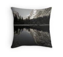 Mirror Lake, Yosemite Throw Pillow