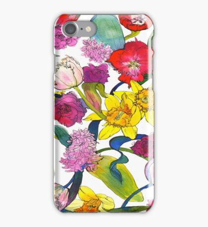 Tulips & Daffodils iPhone Case/Skin