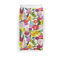 Tulips & Daffodils Duvet Cover