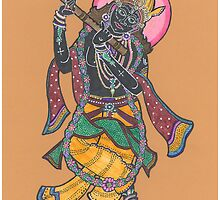Krishna by Donna L. Faber