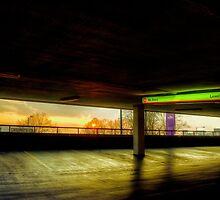 Multi-Storey Sunset by Nigel Bangert