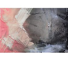 Starting Point,Pink Blue Abstract Giclee,Pink grey Giclee Print,Abstract Painting,pink white Giclee,pink grey print,pink wall art Photographic Print