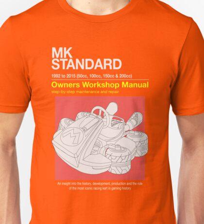 Mario Kart Manual Unisex T-Shirt