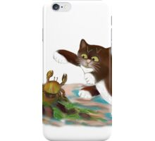 Touché says kitten to the Crab iPhone Case/Skin