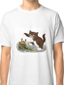 Touché says kitten to the Crab Classic T-Shirt